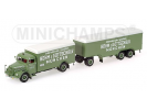 Man F8 Kofferzug 1954 Minichamps 1/43 - T2M-499070840