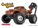 Traxxas 1/10e Monster Jam Captain s Curse 2WD - TRX-3602G